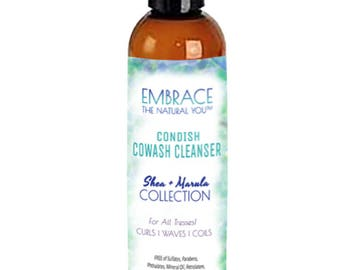 Condish CoWash Cleanser - Gentle Cleansing Conditioner for Natural Hair with Shea + Marula!