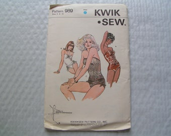 KWIK SEW Pattern 989 Miss Swimsuit