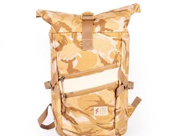 GO by Gosha Orekhov B.Desert Technic Rolltop m Backpack, Waterproof Rucksack, Hiking Backpack, Cycling Backpack / To order