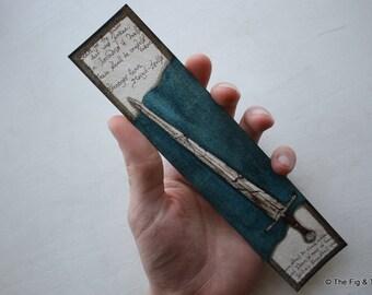 Literary Bookmark - Original Handillustrated Art