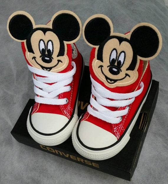 Boys Custom Converse Mickey Mouse Converse Kids Converse