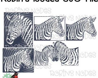 Zebra Stripes Svg Etsy