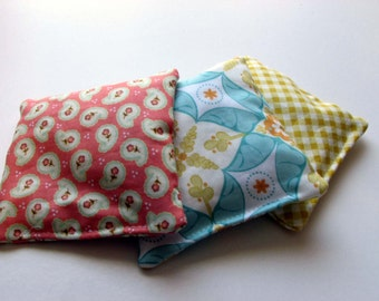 4 x 4 inch Hot / Cold Pack Rice Bag Boo Boo Bag / Stocking Stuffer