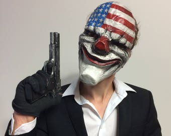 Set of Dallas Hoxton Wolf Chains Payday 2 inspired masks