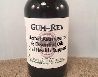 Tooth & Gum Herbal Oil, Receding Restore Reverse Revive Pockets Gums, Oil Pulling