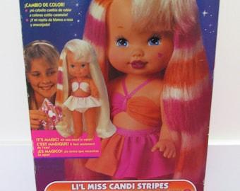 1993 Mattel 'Lil Miss Candi Stripes' IN BOX