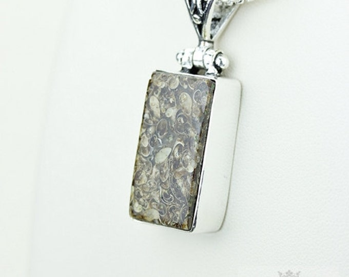 Turtella Jasper 925 S0LID Sterling Silver Pendant + 4MM Snake Chain & Free Worldwide Shipping p3577