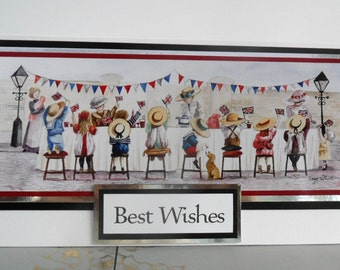 C1869 - Street Party - Best Wishes