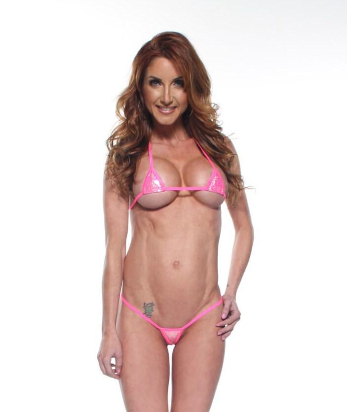 Sparkly bikini holographic hot nude photos
