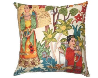 Frida Mexican Art Throw Pillow Decorative Pillow Home Decor Bedding/Day of the Dead