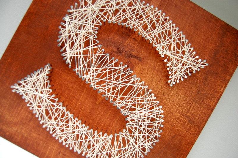 Customized String Art/ Thread Art Initials for wedding