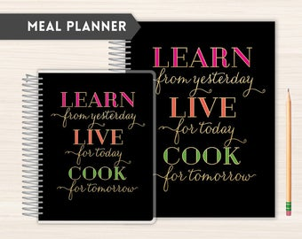 Meal Planner   Grocery and Meal Planner   Family Meal Planner   Weekly Meal Planner   Nutrition Organizer   Food Planner   learn live cook