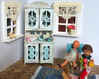1:12 Doll House Furniture Kitchen cabinet Miniature
