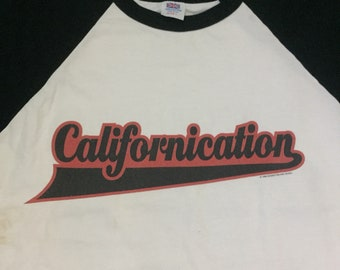 Red hot chili pepper Californiacation true vintage t shirt 1999 L