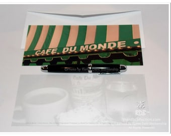Cafe du Monde Long Note Cards