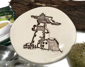 Spoon Rest  - Lighthouse - Ready to Ship