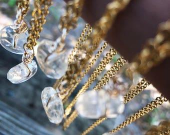 Collier Citrine, bijoux citrine, collier citrine véritable, collier en cristal, bijoux en cristal, Pierre de naissance novembre, bijoux de naissance