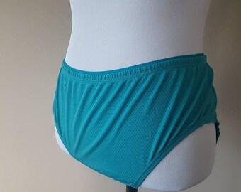 Size 9 / Panties / Turquoise / Extra Large