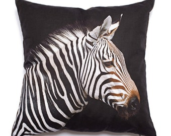 Decorative Pillow Zebra