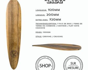 LIBE longboard Longboard skateboard handcrafted