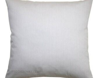 Throw Pillows, Storm Grey Pillow Cover, Grey Solid Pillow, Zippered Pillow, Plain Pillow, Gray Cushion Cover, Pillow Case, Grey Bed Pillows