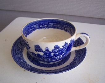 Homer Laughlin Cup and Saucer