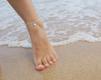 Tree of Life Anklet, Available in Sterling Silver, Gold and Rose Gold, Sterling Silver Anklet, Gold Anklet, Rose Gold Anklet