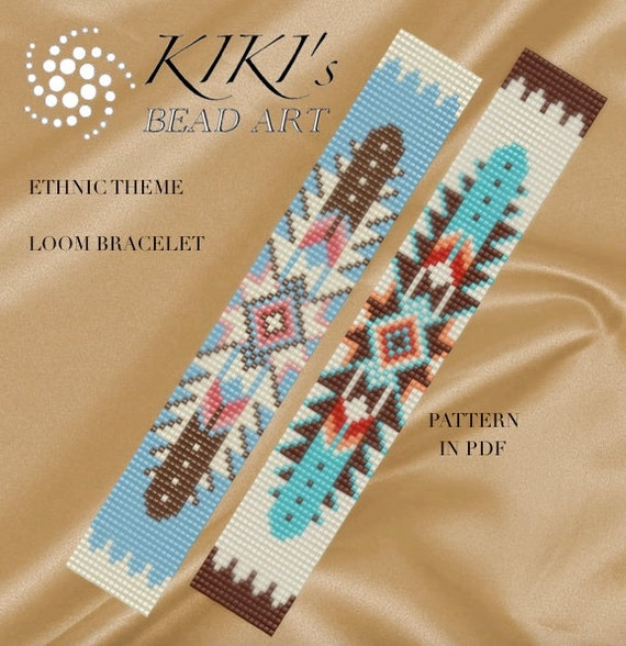 Bead Loom Pattern Ethnic Theme Native American Inspired Loom