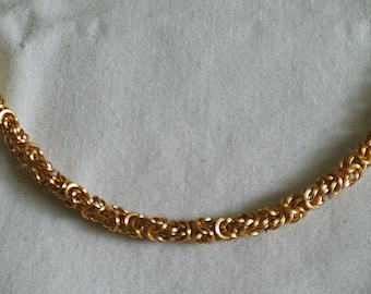Gold Byzantine Chain
