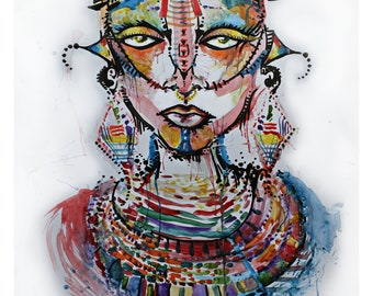 Massai Goddess - Goddess Gang Series
