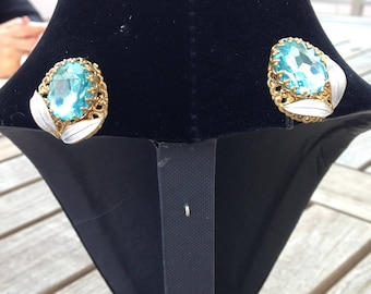 Jasmine's Mother clip on earrings