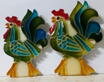 Vintage Luctie Rooster Wall Decor