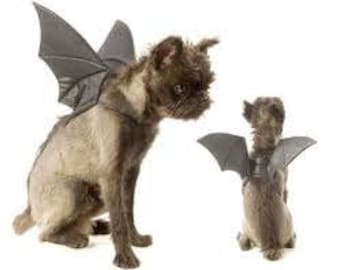 Bats Wings Costume for Pets; dogs and cats,