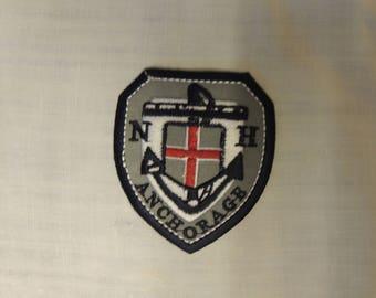 Heat-sealed badges sailor boy clothing