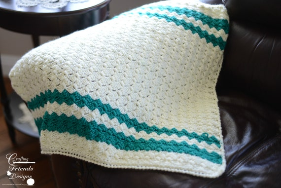 Crochet Pattern Brick Stitch Afghan Baby To King Sized