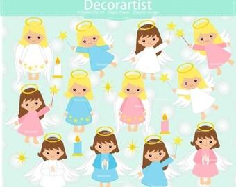 ON SALE Fairy clipart, christmas Fairy clipart, baby angel clipart, Fairies digital clipart, christmas angel clipart, angel clipart