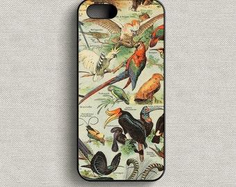 Vintage Birds Phone Case iPhone 5 5C 6 6+ 7 7+