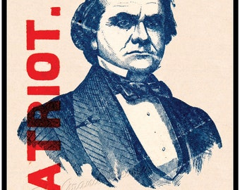 Civil War print - Stephen Douglass - Patriot