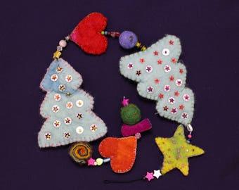 Magical Christmas Garland-enchanting Christmas garland L12