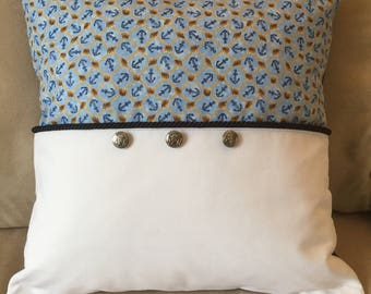 Anchor Pillow Cover (large)