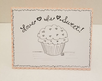 Love Is Sweet Greeting Card