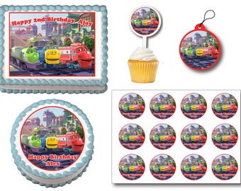 Chuggington cake Etsy