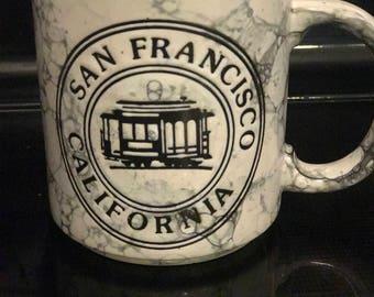 Vintage San Francisco CA Mug