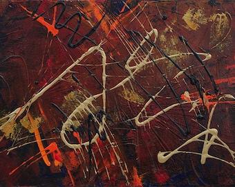 Abstract Acrylic || Samurai Sword || Free Shipping