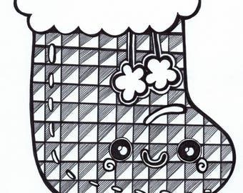 Stocking Drawing