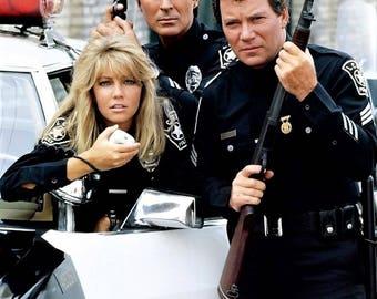 William Shatner , Heather Locklear & James Darren from the 1980's series T. J. Hooker