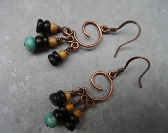 copper spirals