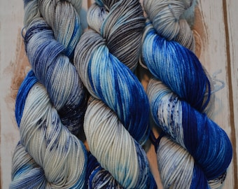 Go Cowboys! Worsted Weight Hand Dyed Yarn