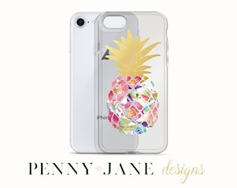 Pineapple Phone Case for iPhone x, iPhone 7/8, iPhone 7 Plus/8 Plus, iPhone 6/6s, 6 Plus/6s Plus