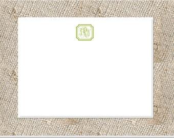 Monogrammed Stationery  - 25 note cards & envelopes